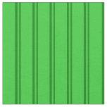 [ Thumbnail: Green & Lime Green Stripes Pattern Fabric ]