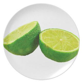Green Lime Melamine Plate