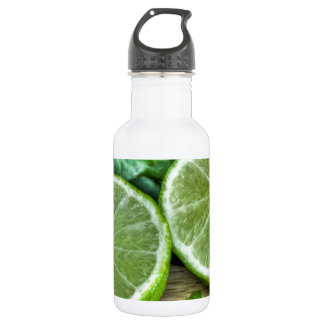 Green Limes and Mint Mojito 18oz Water Bottle