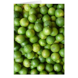 green limes card