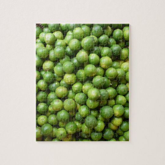 green limes jigsaw puzzle