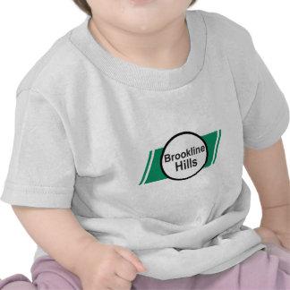 GREEN LINE: Brookline Hills T Shirt