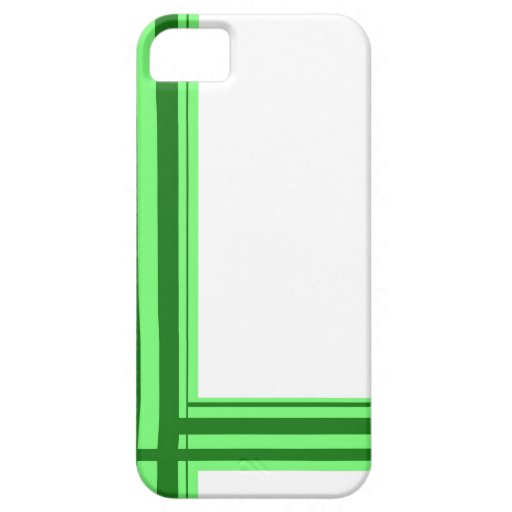 Green Line iPhone 5 Case