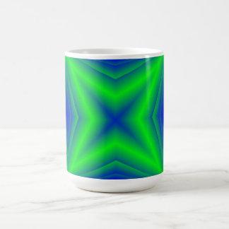 Green line Pattern Mugs