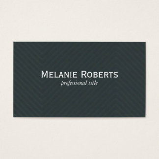Green Linen Pattern Business Card