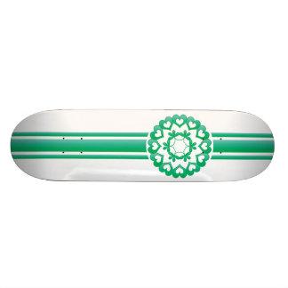 Green Linked by Love Skateboard
