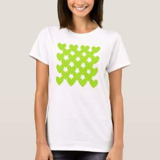 Green Linked Hearts T-Shirt