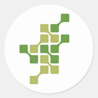Green Links Sticker