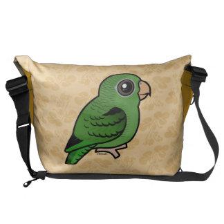 Green Linnie Courier Bag