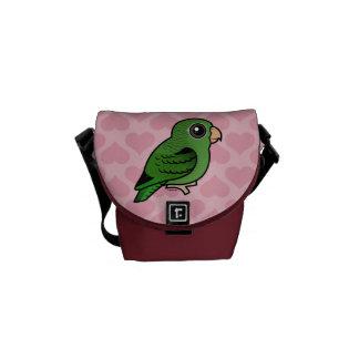 Green Linnie Messenger Bag