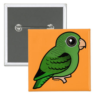 Green Linnie Pinback Button