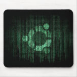 Green Linux Terminal Mouse Pads