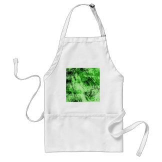 Green lion adult apron