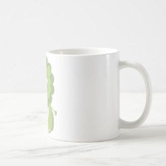 Green lion coffee mug