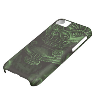 Green Lion Dog Pixel Art iPhone 5C Cover