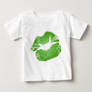Green Lips Tee Shirt