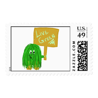 Green live green stamps