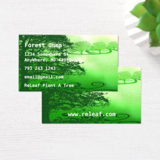 Green Living Business Card