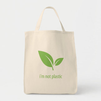 Green Living | Green Graphic Design Tote Bag
