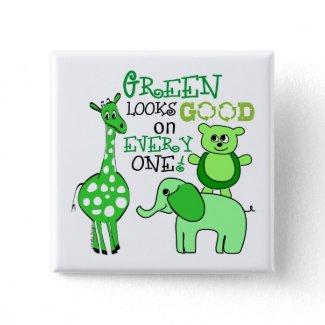 Green Living Button