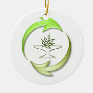 Green Living Ornament