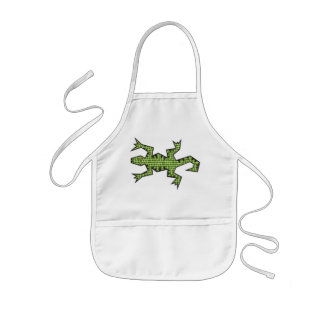 Green Lizard Apron