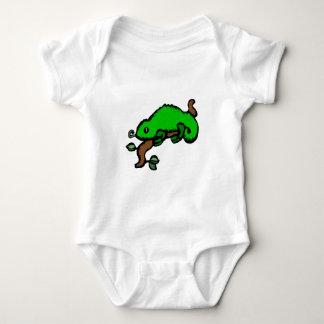 Green Lizard Baby Bodysuit