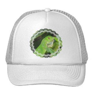 Green Lizard Baseball Cap Trucker Hat
