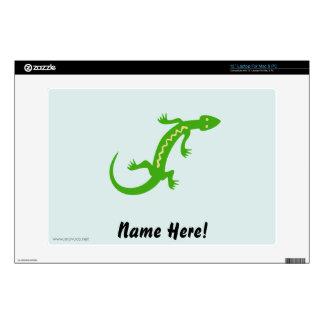 Green Lizard Decals For Laptops