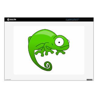 green lizard iguana cartoon decals for laptops
