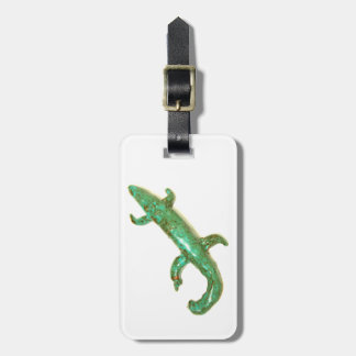 green lizard tag