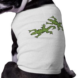 Green Lizards Pet Clothing