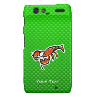 Green Lobster Droid RAZR Cases
