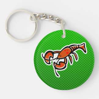 Green Lobster Acrylic Key Chains