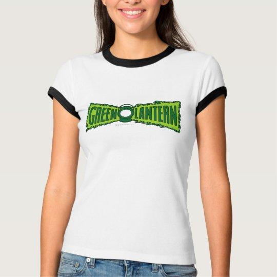Green Logo Flames T-Shirt