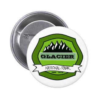 Green Logo Park Pinback Button