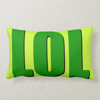 Green LOL Pillow