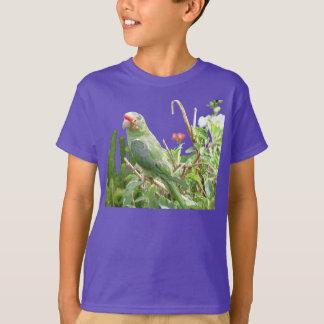 Green Lorikeet Organic Bird T-Shirt