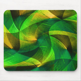 Green Love_ Mouse Pad