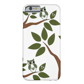Green Love Owl In Tree Barely There iPhone 6 Case