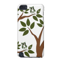 Green Love Owl In Tree iPod Touch (5th Generation) Case