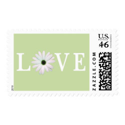 Green Love stamps