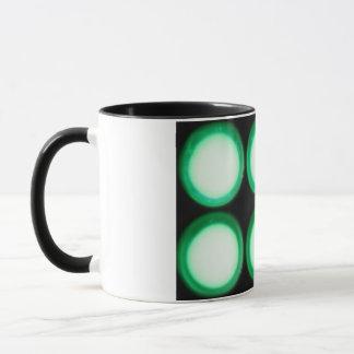 Green Luminescence Mug