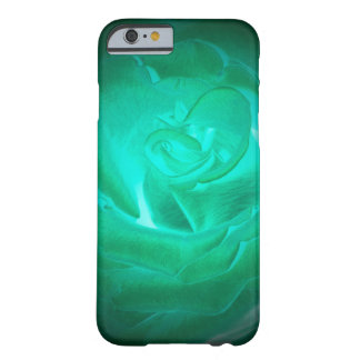 green luminous rose negative picture barely there iPhone 6 case