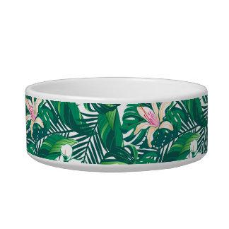 Green lush plants bowl