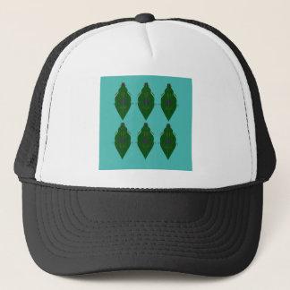 Green luxury ornaments trucker hat