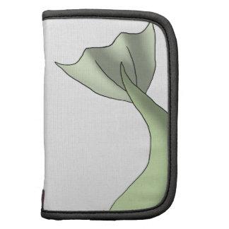 Green Macaroon Mermaid Tail Folio Planners