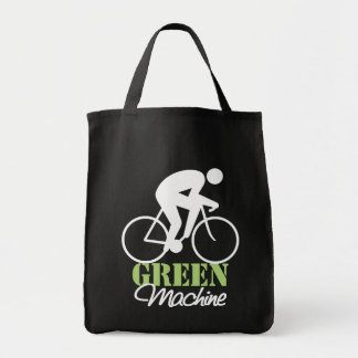 Green Machine Grocery Tote Bag