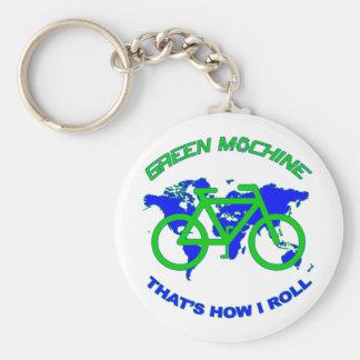 Green Machine Keychain