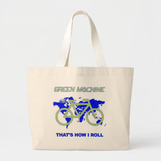 Green Machine Large Tote Bag